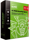Dr.Web Security Space с целью Windows, OS X, Linux