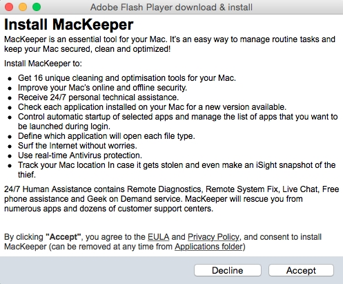 screen Adware.Mac.WeDownload.1 #drweb