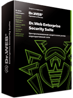 Dr.Web Enterprise Security Suite Control Center