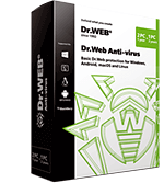 Dr.Web Anti-virus for Windows, OS X, Linux