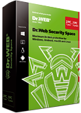 Dr.Web Security Space 2 PC/Mac/1 an