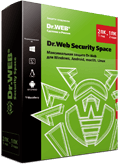 Dr.Web Security Space 2 ПК/Mac/1 год