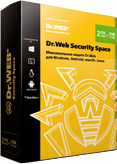 Dr.Web Security Space 2 ПК/Mac/2 года