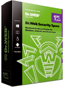 Dr.Web Security Space without technical support