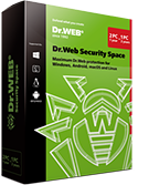 Dr.Web Security Space für Windows, OS X, Linux