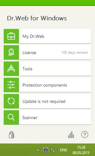 dr web for android license key