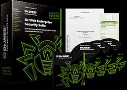Dr.Web 11 для бизнеса сертифицированный ФСТЭК России (картонная коробка)