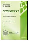 Пример сертификата
