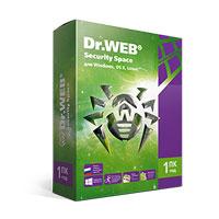 Dr.Web Security Space на 1 год