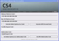 Генератор серийных номеров для продуктов Adobe Systems