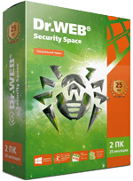 Dr.Web Security Space (2 ПК / 25 мес.) #drweb