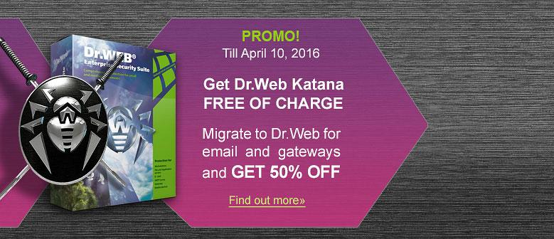 Paquete Dr.Web Katana+