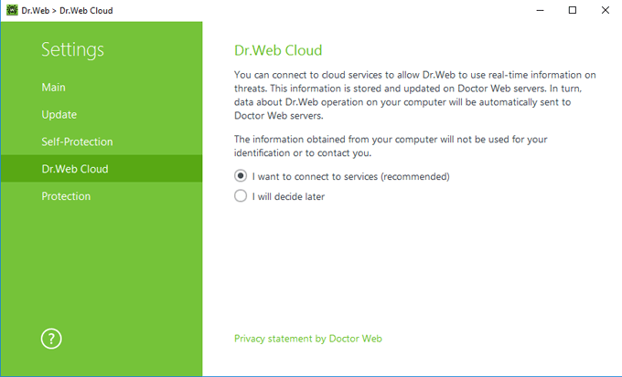 Dr.Web Cloud #drweb