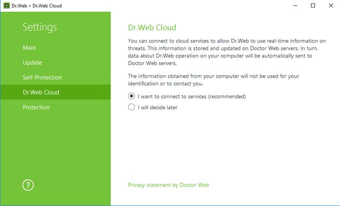 Protección en la nube Dr.Web Cloud #drweb