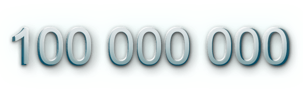 100 000 000
