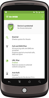 Dr.Web for Android 12.0.0 Screen shot