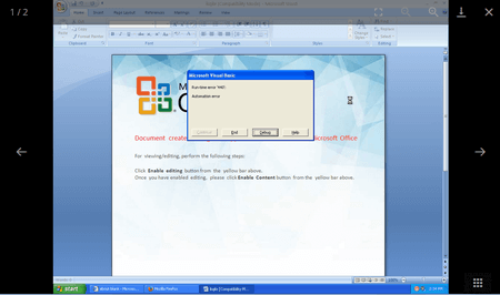 screenshot Dr.Web vxCube #drweb