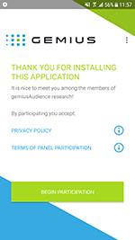 screenshot Program.Gemius #drweb